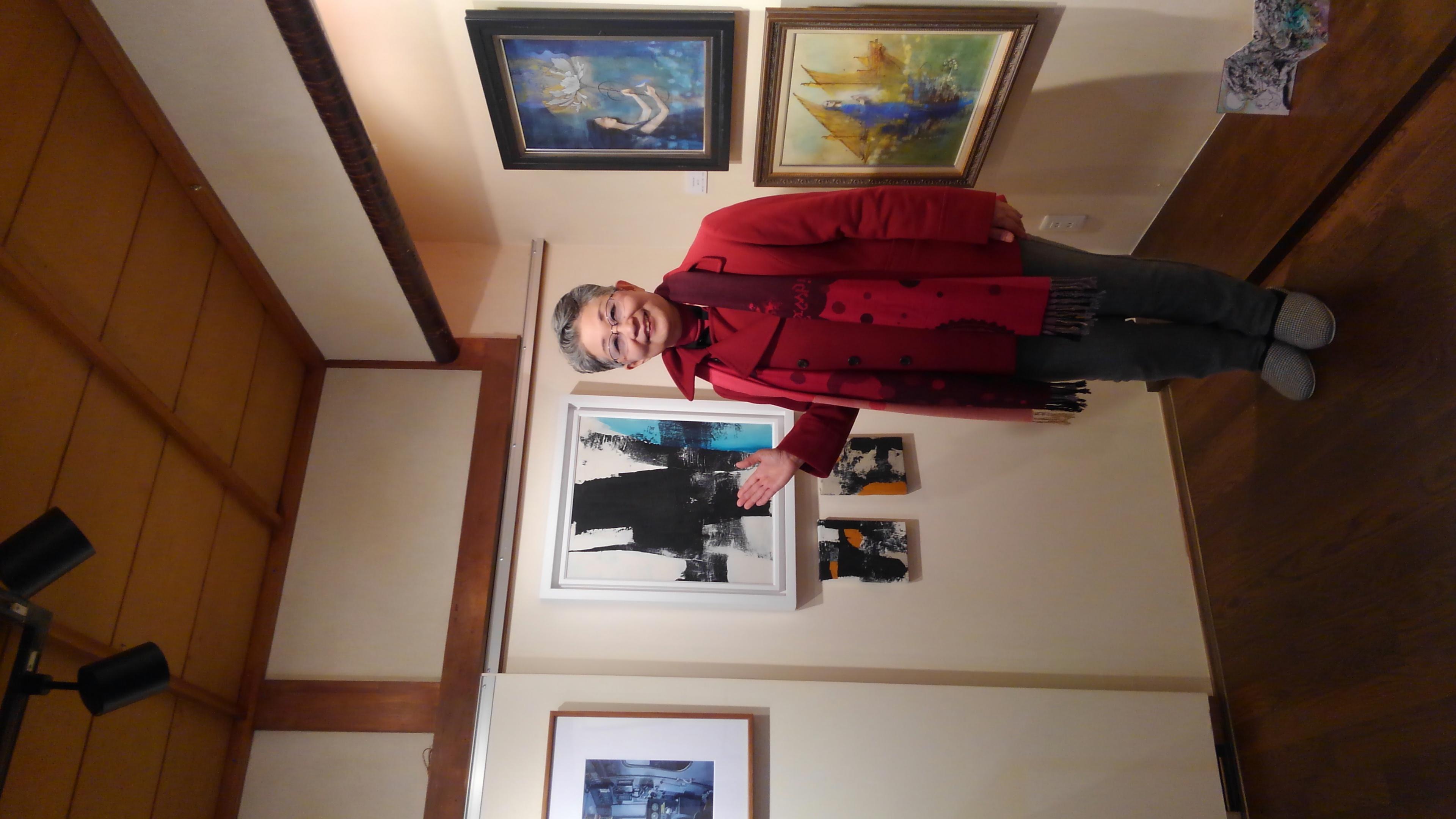 高槻の画廊「アートデアートビュー」で12人の作家さんによるFuture world ~未来~へ行きました🍀