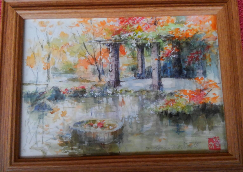 11月の絵画は紅葉🍁特集です🍁
