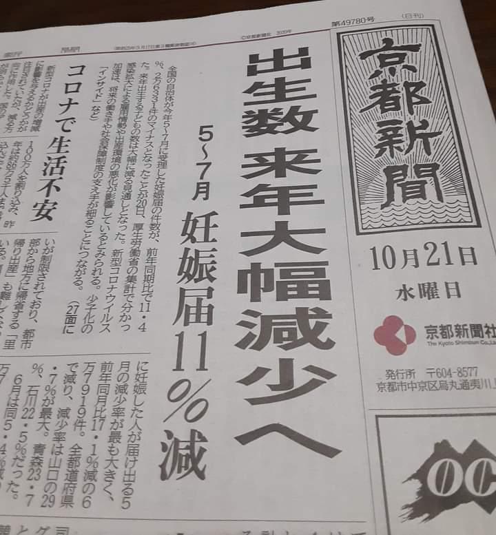 マァ~❗️大変~❗️日本の人口が・・・💦